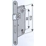 agb 1001.50 bronzato serratura