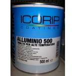 alluminio 500° smalto alta temperatura 2,5lt