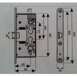 yale corni 456906519 dx elettroserratura