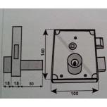 fangazio 48cld serratura fpb destra cilindro lungo.
