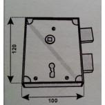 fangazio 611dx serratura fpb