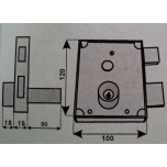 fangazio 611cld serratura fpb
