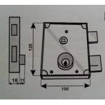 fangazio 611fpbd serratura fpb