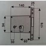 feb 550dx elettroserratura