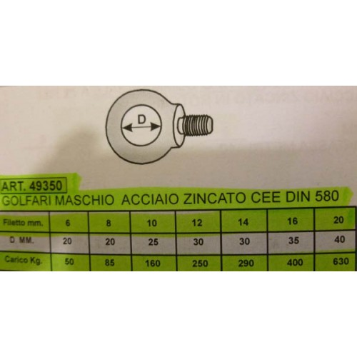 GOLFARE M 10 MASCHIO