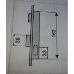ise o752151 serratura