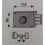 moia 320 dx serratura