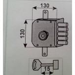 moia 423 dx serratura