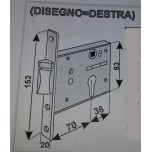 prefer 5801 dx serratura