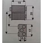 yale 067010001 dx bobina